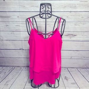 Annabella Hot Pink Tank Top